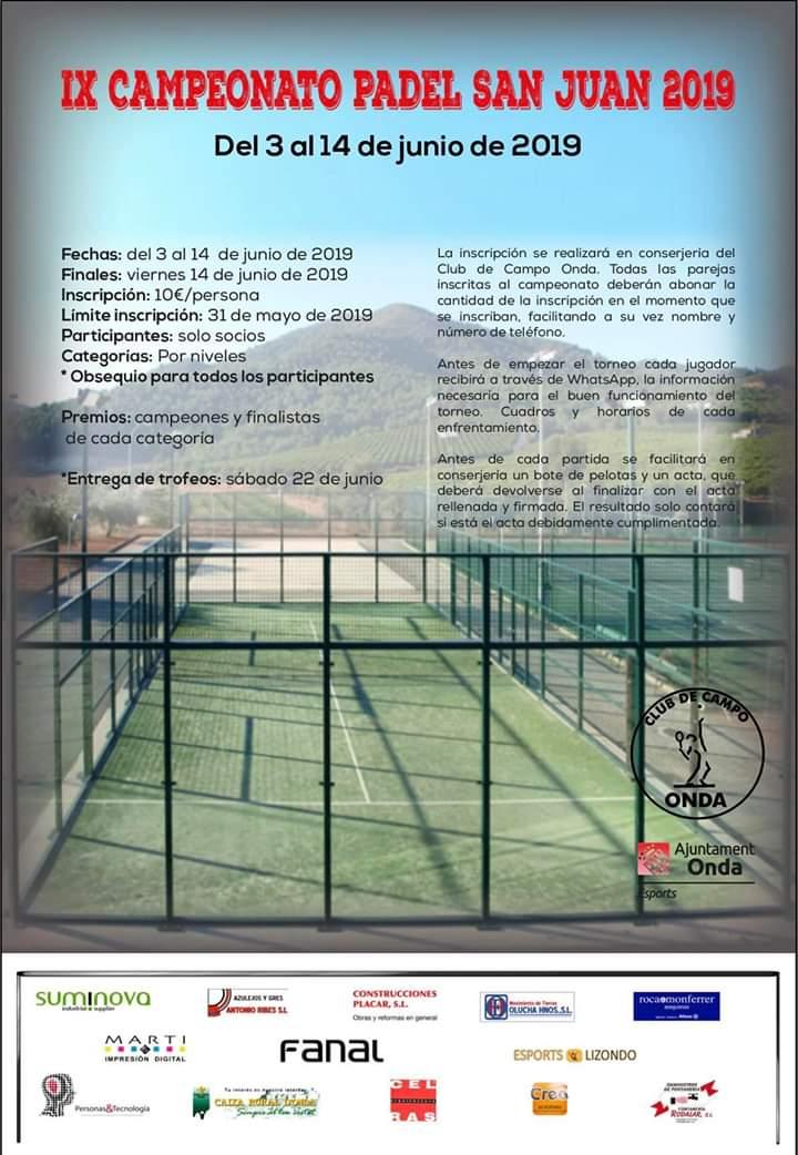 IX Campeonato San Juan