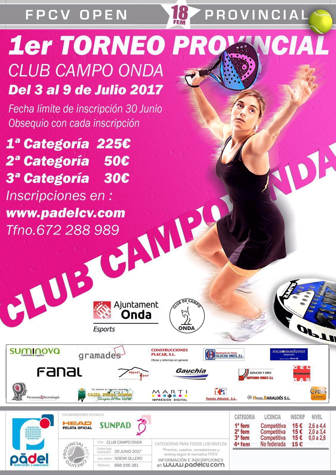 I Torneo Provincial Femenino